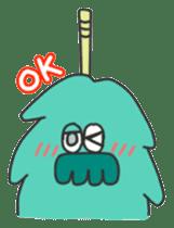 Mossan of mop sticker #344279
