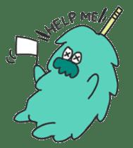 Mossan of mop sticker #344297