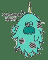 Mossan of mop sticker #344300