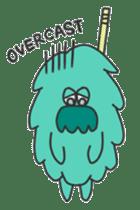 Mossan of mop sticker #344301