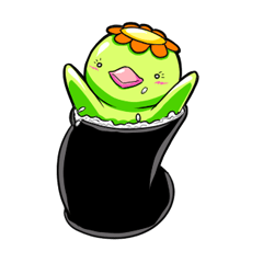 Cucumber-Maki Maki-chan