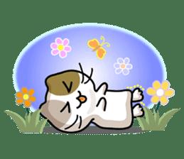 Rabbit&Cat(usa-thi&nya-tan) sticker #345231