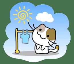 Rabbit&Cat(usa-thi&nya-tan) sticker #345232