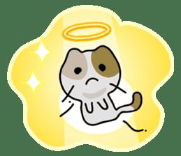Rabbit&Cat(usa-thi&nya-tan) sticker #345233