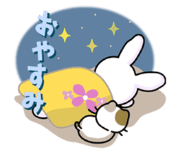 Rabbit&Cat(usa-thi&nya-tan) sticker #345236