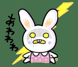 Rabbit&Cat(usa-thi&nya-tan) sticker #345247