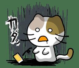 Rabbit&Cat(usa-thi&nya-tan) sticker #345248