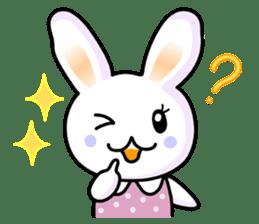 Rabbit&Cat(usa-thi&nya-tan) sticker #345254