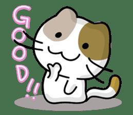 Rabbit&Cat(usa-thi&nya-tan) sticker #345259