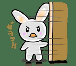 Rabbit&Cat(usa-thi&nya-tan) sticker #345264