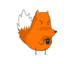 MEPO The Fox sticker #345963