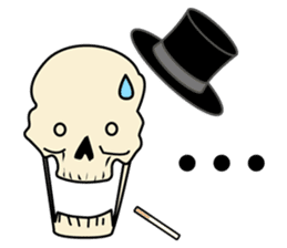Skull-kun sticker #346721