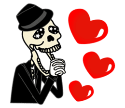 Skull-kun sticker #346734