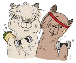 Team Alpaca sticker #346932