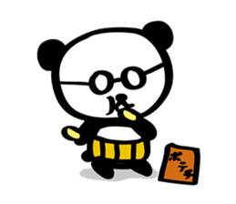 HARAMAKI-PANDA sticker #347157