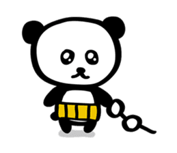 HARAMAKI-PANDA sticker #347161