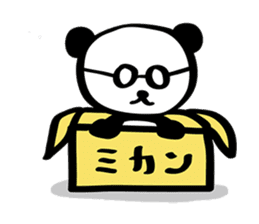 HARAMAKI-PANDA sticker #347171