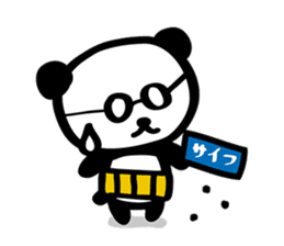 HARAMAKI-PANDA sticker #347175