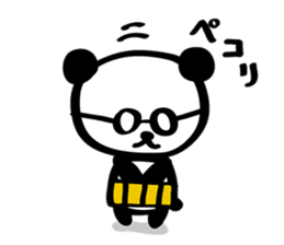 HARAMAKI-PANDA sticker #347176