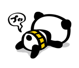 HARAMAKI-PANDA sticker #347178