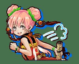 Sangoku Visiolion sticker #347455