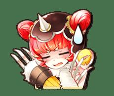 Sangoku Visiolion sticker #347461