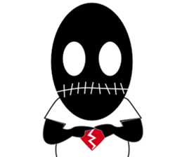 Brokenheart Timou sticker #347514