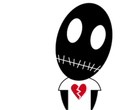 Brokenheart Timou sticker #347515