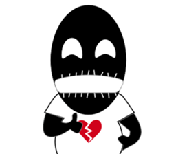 Brokenheart Timou sticker #347540