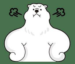 White bear sticker #347642