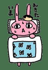 doughnut rabbit sticker #347912