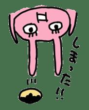 doughnut rabbit sticker #347937