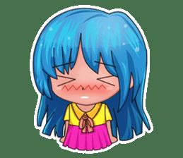 Tachaporn - the chibi girl (th) sticker #348270