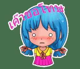 Tachaporn - the chibi girl (th) sticker #348292