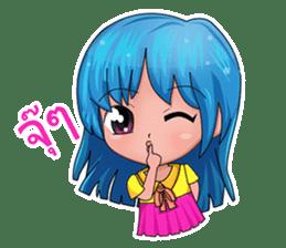 Tachaporn - the chibi girl (th) sticker #348303