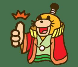 mini characters of Japan sticker #348506
