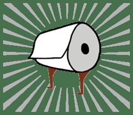mini characters of Japan sticker #348507