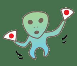 mini characters of Japan sticker #348521
