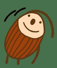mini characters of Japan sticker #348527