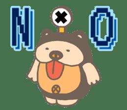 mini characters of Japan sticker #348530