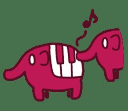 mini characters of Japan sticker #348532