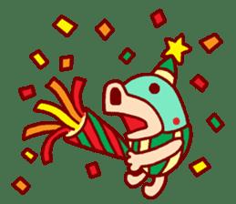 mini characters of Japan sticker #348534