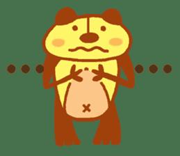 mini characters of Japan sticker #348537