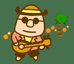 mini characters of Japan sticker #348542