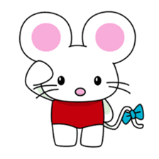 'MY' MOUSE sticker #348906