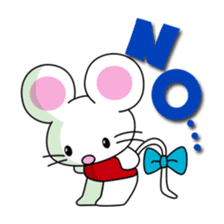 'MY' MOUSE sticker #348916