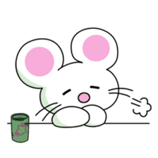 'MY' MOUSE sticker #348920