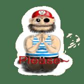 Pirate - A-Fu sticker #350631