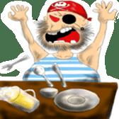 Pirate - A-Fu sticker #350643