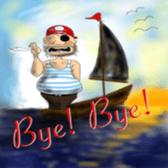 Pirate - A-Fu sticker #350645